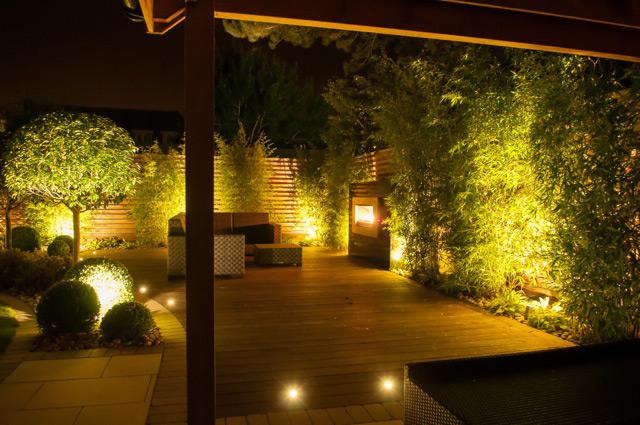landscaping garden design lighting