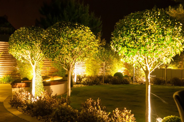landscaping garden design lighting