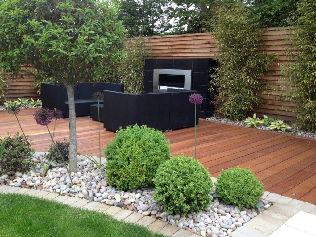 landscaping garden design seating