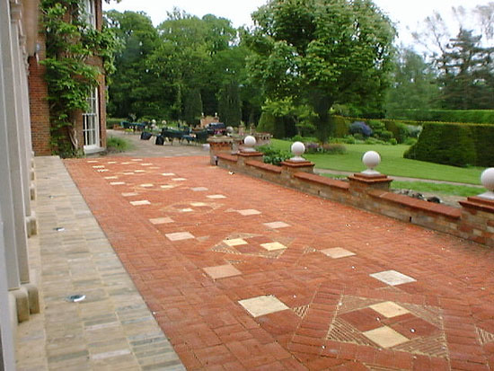 brickwork garden patio